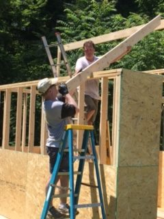 Raising the Shed Roof