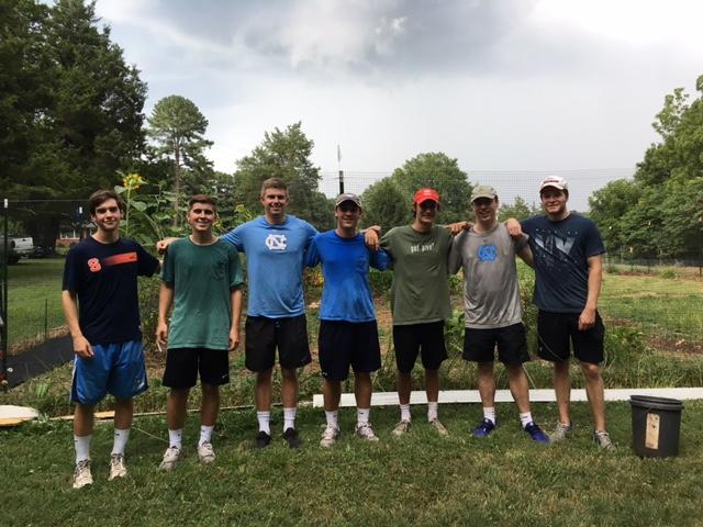 Fraternity SAE Volunteering