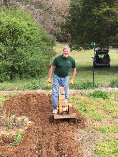 Tilling for new planting