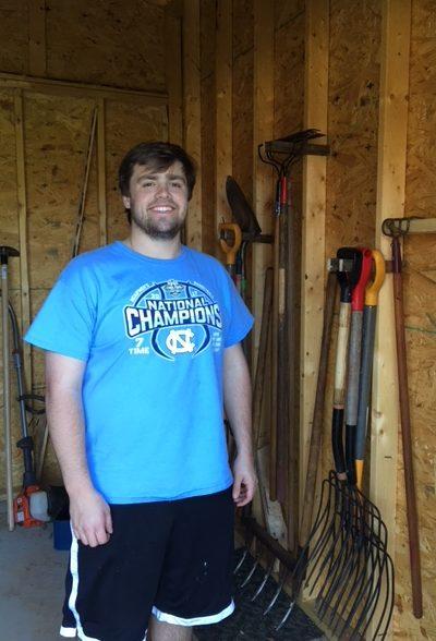 Installing shed hooks